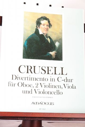 Crusell B H - Divertimento in C Op 9 for Oboe, 2 Violins, Viola & Violoncello